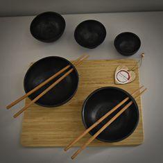 5-delig Suchi set / keramiek / uniek handgedraaide tapas, Suchi, saus kommetjes  / decoratieve schaaltjes / steengoed / gesigneerd. Tapas, Pottery, Tableware, Etsy, Ceramica, Dinnerware, Pottery Marks, Tablewares, Ceramic Pottery