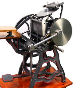 Letterpress - New Champion platen press | por platen-printer