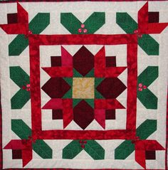 free quilt block patterns to print | How to Quilt: Square in Square quilt block