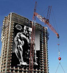 Powerhouse Gym | Advertising School: Savannah College of Art & Design, Savannah, USA (Creative Ads Using Oversized Objects | DeMilked)
