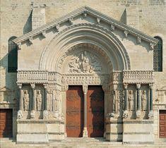 portico de san trofimo de arles francia - Buscar con Google