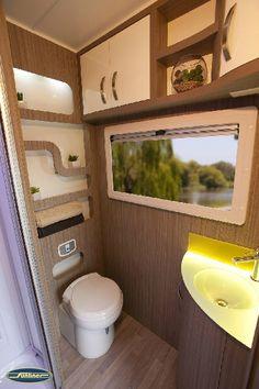 Contemporary Bathroom Design Sunliner RV