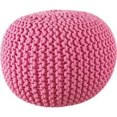 Pink Gumball Knitted Ottoman and Pouffe | Urban Couture - Designer Homewares & Furniture Online