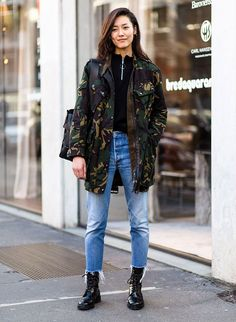 How To Master The Utility Street Style Look