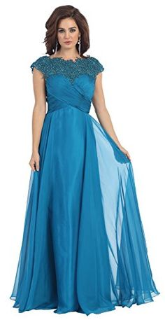 Formal Long Gown lace Prom Dress #1178 (8, Teal) US Fairytailes http://www.amazon.com/dp/B00UK725AQ/ref=cm_sw_r_pi_dp_gEyavb0NA2FXH