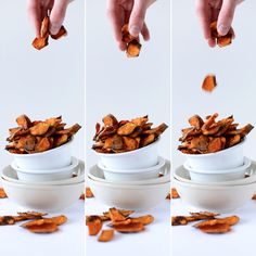 Spicy Sweet Potato Chips!