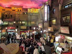 ramen museum, yokohama, japan
