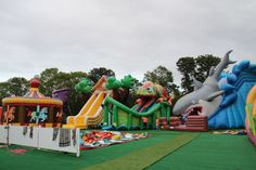 SO much fun at the Cape Cod Inflatable Park. A must see for the kids on or visiting the Cape. Located in Yarmouth.  http://www.capecodinflatablepark.com/water/capecod-water-park.html