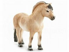 The Fjord Horse Stallion from the Schleich horse collection - Discounts on all Schleich Toys at Wonderland Models.