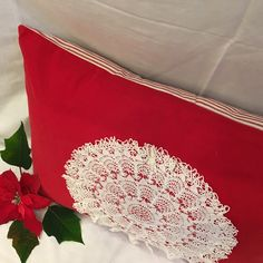 40% OFF One-of-a-Kind Christmas Pillows made from Antique French upcycled textiles!  JAN 1-20.  #Decor #Upcycle #Textiles