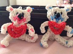 Rainbow loom teddy bears