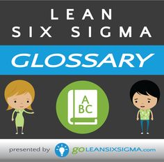 300+ Lean Six Sigma Glossary terms to guide you through courses, on-site training, your job hunt, and so much more!