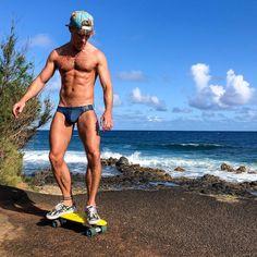 Speedos, Skateboarding, Swimwear, Instagram, Fashion, Bathing Suits, Moda, Swimsuits, Skateboard