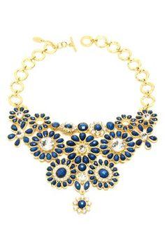 HauteLook | Amrita Singh: Crystal Cocoa Bib Necklace