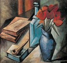 Alice Halicka - Cubist Still Life Be Still, Still Life, Smart Museum Of Art, Fauvism, You Draw, Beautiful Artwork, Art Lessons, Futuristic, Alice