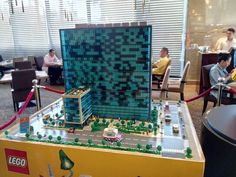 Fairmont Hotel and Raffles apartments in Lego! - Makati