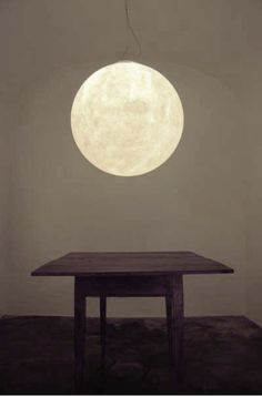 Bring the moon right into your home. Very pretty. :-)