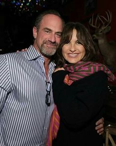 Benson And Stabler, Chris Meloni, The Cw Shows, Olivia Benson, Mariska Hargitay, Law And Order, Together Forever, My Soulmate, American Actors