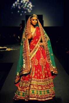 Sari tradicional de la India