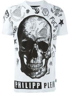 PHILIPP PLEIN 'David' T-Shirt. #philippplein #cloth #t-shirt