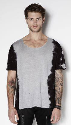 T Shirt Side Washed