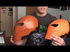 #116.1: Black Panther Helmet Part 1 - Template & Cardboard (free download) Costume How To | Dali DIY - YouTube