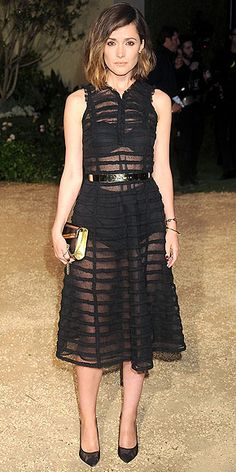 Best Dressed 2015: Rose Byrne (in Burberry) - click ahead for the whole list!