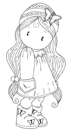 Digi stamps Archives - Page 5 of 12 - Simply Cards & Papercraft magazine :: Stamps / Digis 1 :: Digi Colouring Pages, Adult Coloring Pages, Coloring Books, Art Drawings For Kids, Cute Drawings, Digital Stamps Free, Cute Images, Embroidery Patterns, Ribbon Embroidery