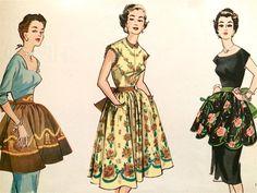 DIY aprons, 1950s