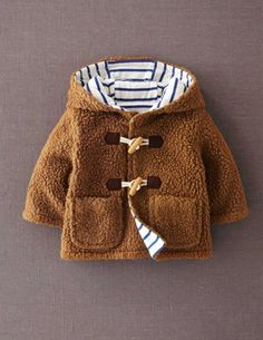 I've spotted this @BodenClothing Fleece Duffle Tan