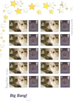 "Love this piccie so much I had special ""smiler"" stamps made"