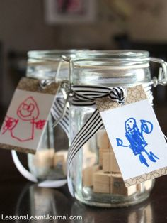 Surprise Fathers with a fun secret message this Fathers Day. This Fathers Day Kids Craft would also be a lovely keepsake.