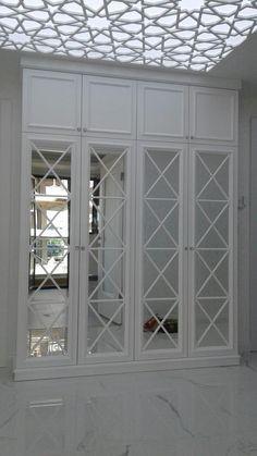 Bedroom Wardrobe, Bedroom Doors, Elegant Home Decor, Elegant Homes, Home Design Decor, House Design, Mirrored Wardrobe Doors, Rustic Bathrooms, Beautiful Bedrooms