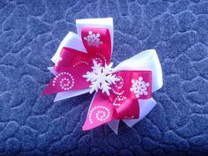 Snowflake bow #cofbeads