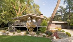 Thompson Mosley house originally designed by Buff, Straub & Hensman in 1959. Pasadena, CA.