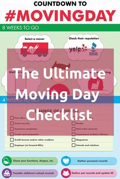 Big move coming up? The experts at NorthStar Moving Co. share the ultimate moving day checklist, so everything goes smoothly.