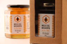 Honey Concept: Mieles del Desierto de losAndes #packaging #design