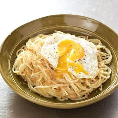 This rustic Italian specialty of garlicky spaghetti topped with fried eggs and crunchy bread crumbs is a very simple dish that can be really spectacular. Even better? It only requires six pantry staples to make.