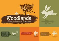 Pets at Home Woodlands: The Woodlands branding, animal characters, textures and typography creates a brand with a natural and playful identity that appeals to both adults and children. #design #woodlands #PetsatHome #packaging