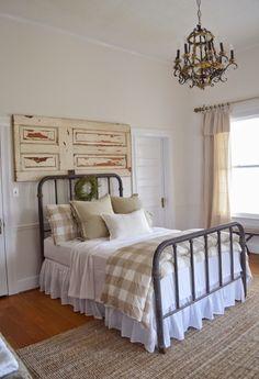 little white house blog: Spare Bedroom Makeover