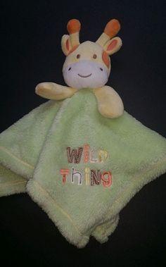 Babygear Baby Gear giraffe baby plush toy Wild Thing security blanket lovey  | eBay