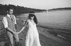 Golden gardens Seattle wedding OneButton Photography