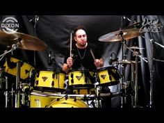 Dixon Drums Türkiye - Doğaç Titiz :Part 1 - YouTube