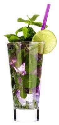 purple mojo for the reception