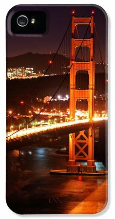Golden Gate Bridge and Sutro Towers iPhone 5 Case / iPhone 5 Cover for Sale by Daniel Woodrum