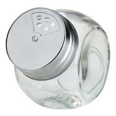 Round Spice Jars with Metal Shaker Lids, Set of 4 | World Market Spice Jar Set, Glass Spice Jars, Glass Jars, Home Security Devices, Pen Camera, Spice Shaker, Protecting Your Home, Tidy Up, World Market