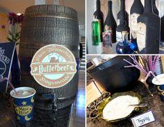 Harry Potter Wedding Shower - Butterbeer and potion bottles - DolledUpDesign