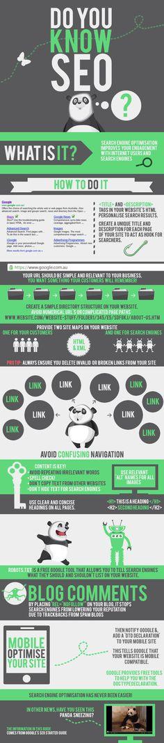 SEO'yu Biliyor musunuz? - #sosyalmedya #sosyalmedyapazarlama #socialmedia #socialmediamarketing #infografik #infographic #SEO #aramamotoruoptimizasyonu #googlemaps