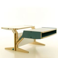 Table Basse design Switch Box