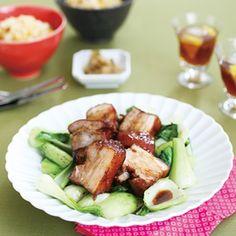 こってり角煮(レシピ:ゆとりの空間)